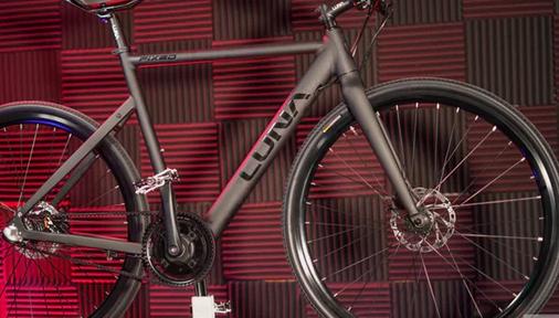 Luna's Fixed是一款超级隐形400-W电动自行车的杀手锏