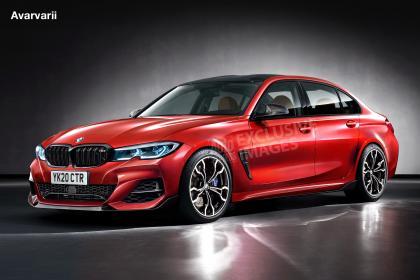 新款2019 BMW M3拥有510bhp和四轮驱动
