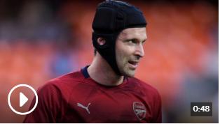 大卫希曼说 切赫切赫不应该在欧洲联赛决赛中为阿森纳效力