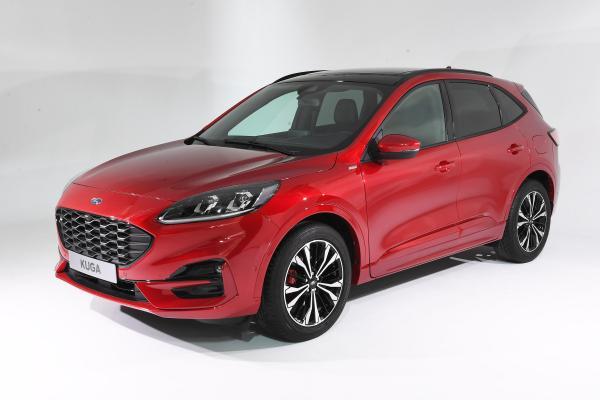 全新2019款福特Kuga采用全新外观和混合动力技术
