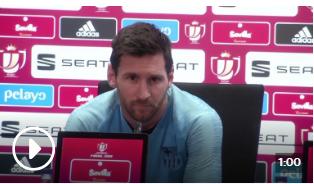 莱昂内尔·梅西承认巴塞罗那让利物浦在半决赛失利