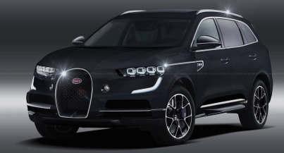布加迪称SUV不会基于另一种VAG模型
