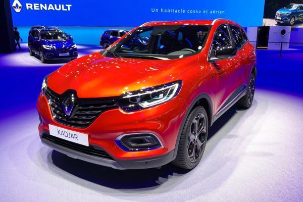 全新Renault Kadjar改款价格为20,595英镑