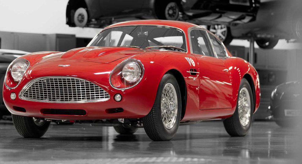 阿斯顿马丁揭示了DB4 GT Zagato在勒芒世界首演前的延续