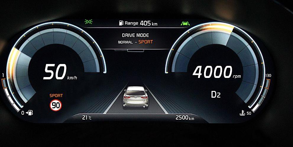 2020起亚XCeed将使用Carmaker首款全数字仪表盘