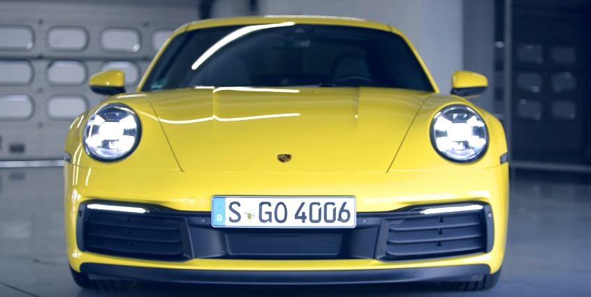 2020保时捷911 Carrera Base车型搭载Carrera Aerokit 外观极致