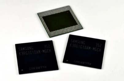 三星最新的内存芯片使4GB智能手机更接近现实