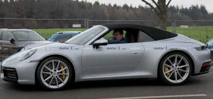 2020款保时捷911敞篷车以其顶级车型为主打