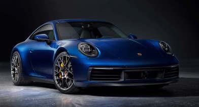2022年保时捷911混合动力车采用纯电动模式