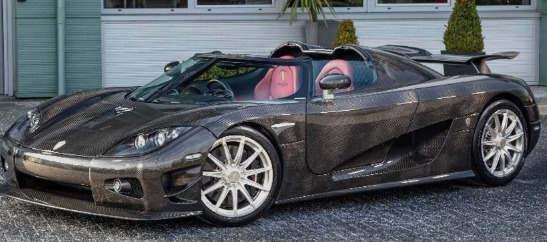 独特的绿色超级跑车在伦敦以230万美元的价格出售