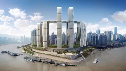 重庆来福士距离首个业态购物中心开业又进一步