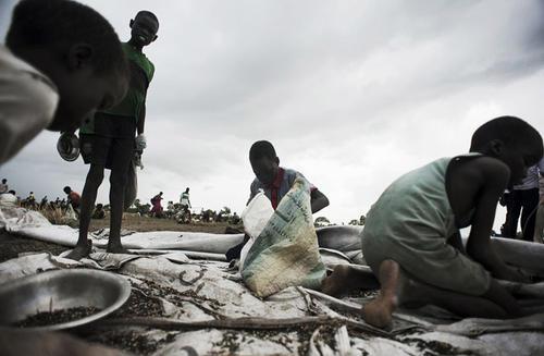 南苏丹面临严重缺乏粮食的人数是有史以来最高的