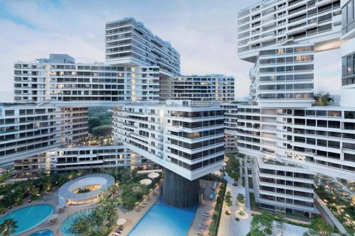 生活在世界之巅 新加坡最大的公寓