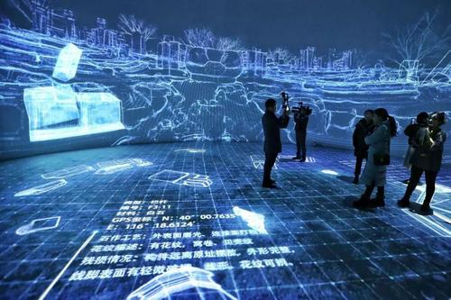 与体验式公司会面 博物馆和政府接受身临其境的数字技术