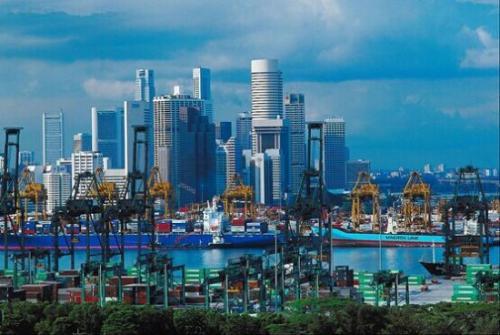 在中美贸易发展中 亚太地区贸易增长