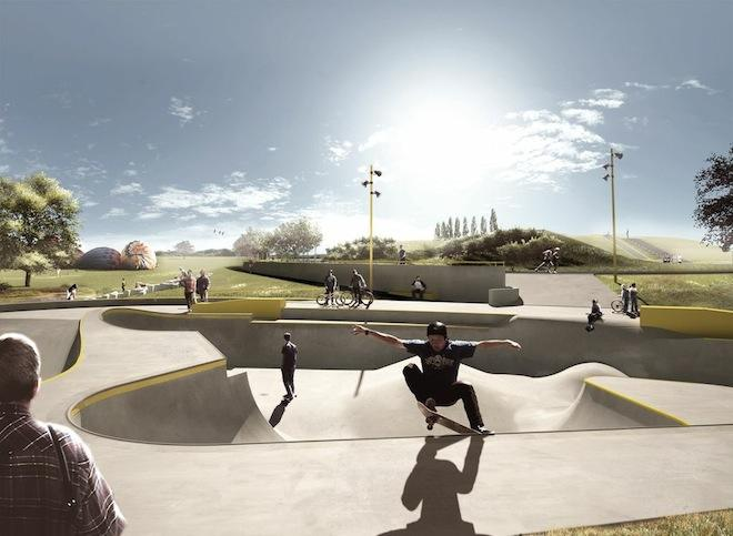 湾滑板公园的竞标将被遗产列表推荐取消