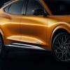 橙色油漆增加了2021年福特野马MachE的视觉功率