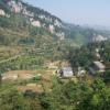 大河沟自然村始建于明末邓氏家族从湖北兴国州迁居于此