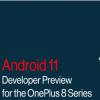 一加8和一加8Pro手机已经具有安卓11Beta版本