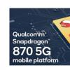 高通骁龙8705G移动平台宣布了高达3.2GHz的CPU时钟速度