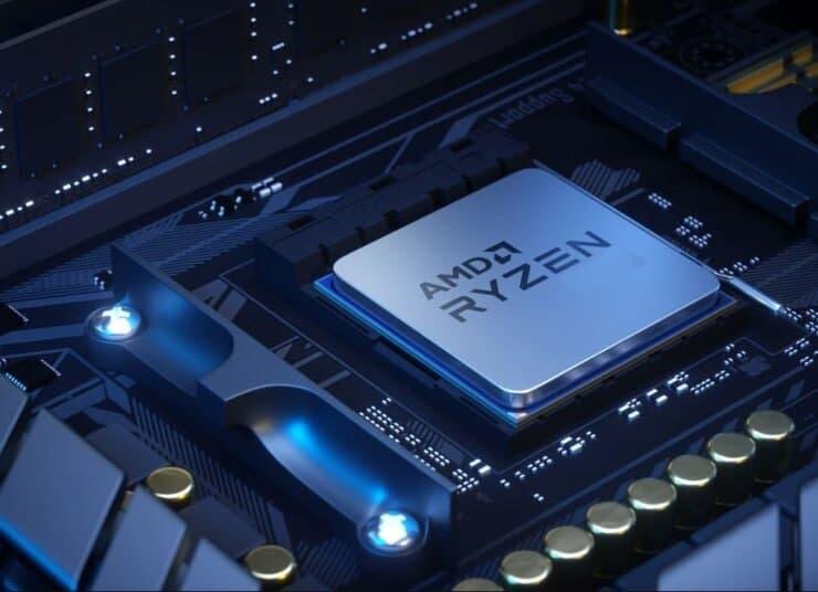 AMD锐龙7 5700G 8核心塞尚APU性能泄漏,超频至4.75 GHz和比锐龙7 5800X更快