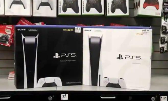索尼在2020年售出了450万台PlayStation 5游戏机
