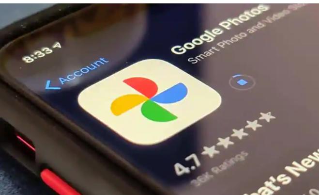 """Google相册为您提供了""""沙滩和太阳""""和""""美味佳肴""""类别"""