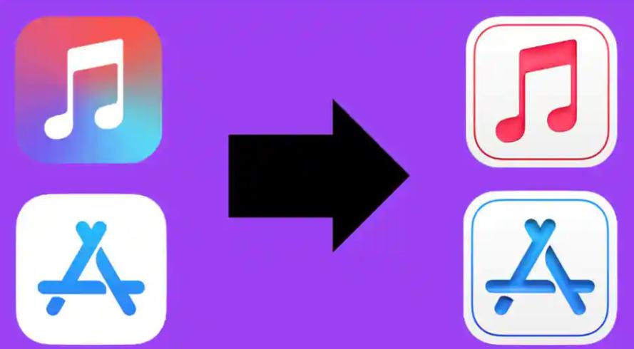 新的iOS图标正在暗示苹果即将推出的设计