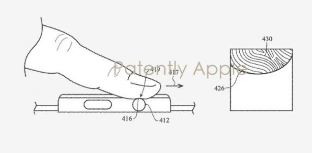 Apple获得支持Touch ID指纹扫描仪的下一代Apple Watch专利