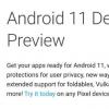 谷歌在取消上市之前简要地戏弄了Android 11