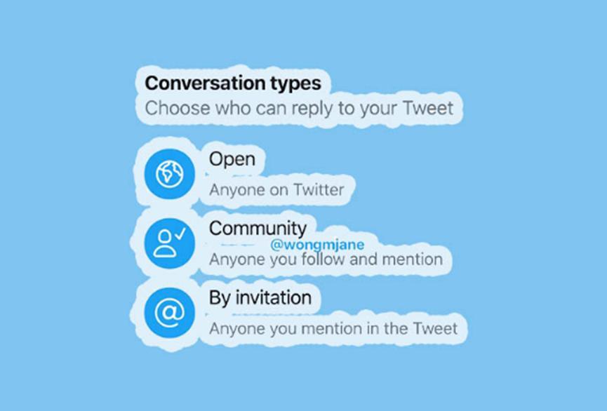 Twitter将很快让您控制谁可以回复您的推文