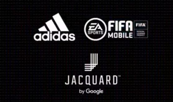 Google与Adidas和EA合作开发了一款新的提花产品
