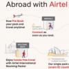 Airtel推出了新的国际漫游体验 带来了新的IR包