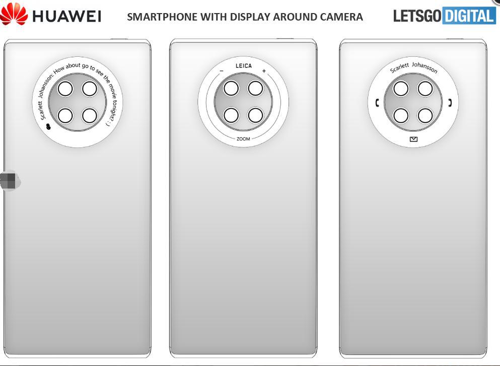 相机上的旋转轮:华为Mate 40具有圆形触摸显示屏吗?