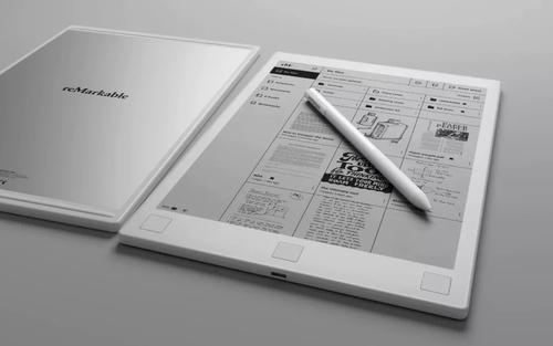 Remarkable宣布推出新的电子纸平板电脑
