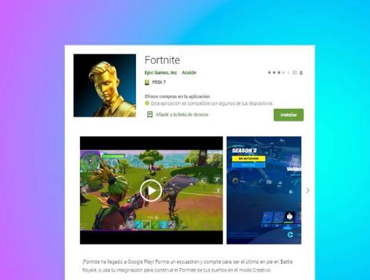 Fortnite正式登陆Google Play