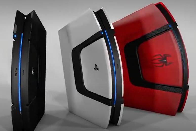 新的PS5概念设计图提供了时髦的散热风扇解决方案,以及未来PS5游戏的截图