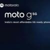 摩托罗拉Moto G 5G终于来了,这是完整规格功能和价格