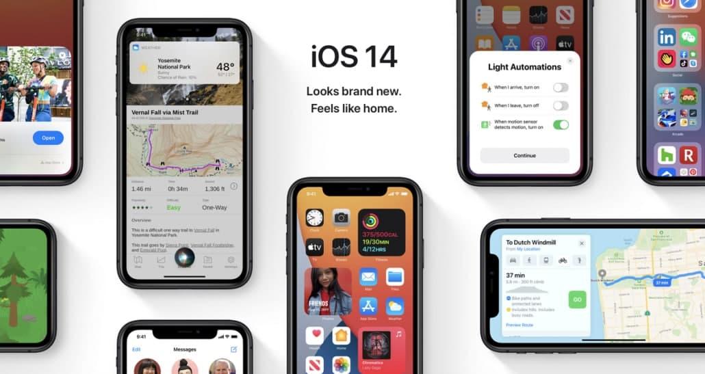 在不到7个月的时间内,估计有90%的设备安装了iOS 14