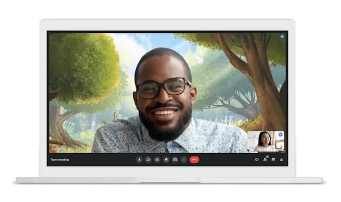 后台替换视频即将在Google Meet上亮相