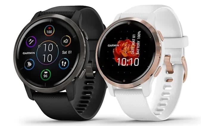 Garmin的Venu 2智能手表提供睡眠评分和健康快照