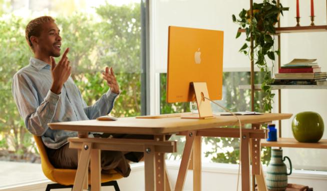 苹果刚刚推出了其新的iMac多合一台式计算机系列