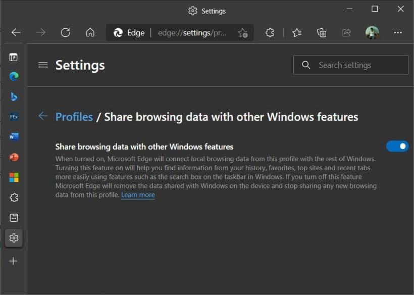 Microsoft Edge浏览器集成了Office:一键打开Word,Excel和PowerPoint文档