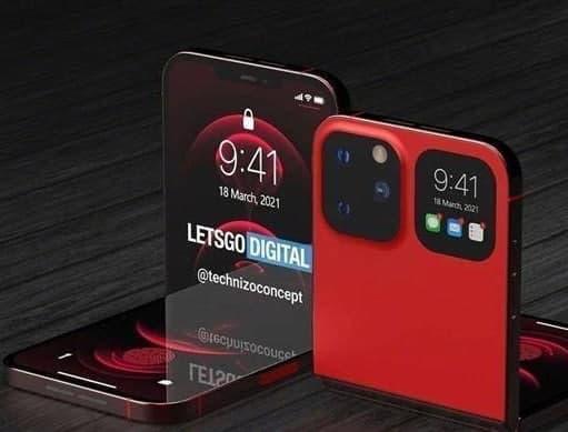 iPhone折叠屏手机曝光 iPhone折叠屏手机渲染图曝光